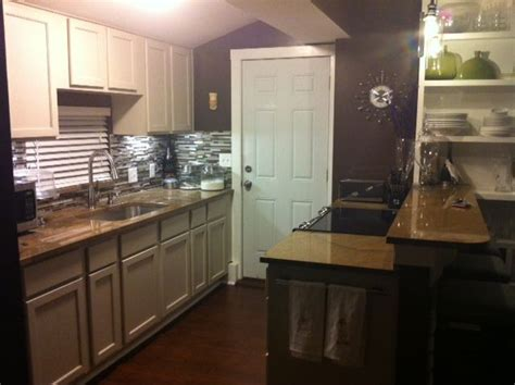 full size kitchen   sq ft garage apartment     pinterest garage apartments
