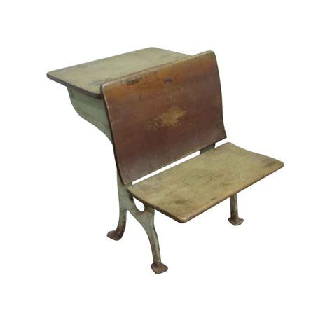 antique school chair desk olde things