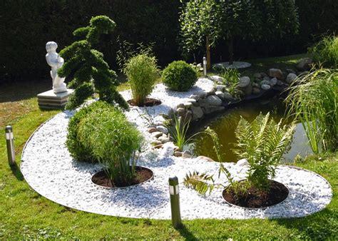 Garten Gestalten Mit Kies Und Steinen by Garten Mit Steinen Gestalten Gartengestaltungsideen Mit