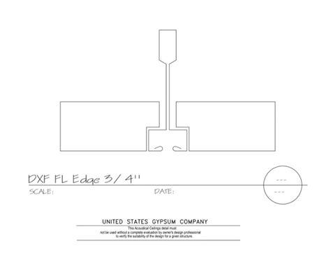 usg design studio 09 51 13 155 acoustical ceilings fineline edge fineline dxff grid