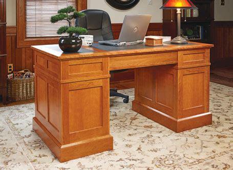 cherry pedestal desk woodsmith plans