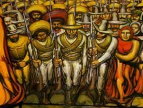 pinturas cuadros lienzos resumen historia del muralismo mexicano