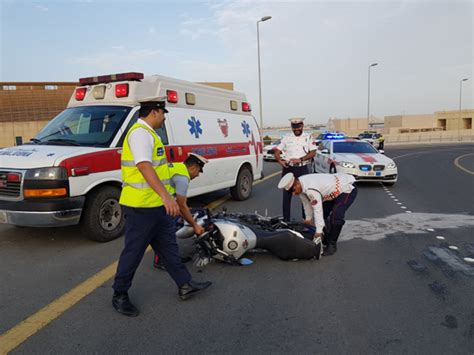 Man Hurt In Motorcycle Accident