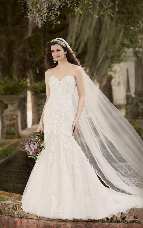 classic lace wedding dress essense  australia