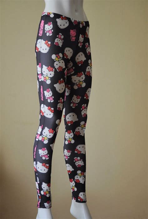 style   classic  kitty leggings tights