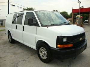 Buy Used    No Reserve    2003 Chevy Express Cargo Van 1500 Auto Ac Heater In Dallas  Texas