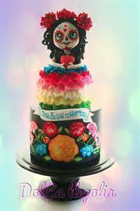 day of the dead wedding cake topper tarta catrina dia de los muertos beautiful cakes