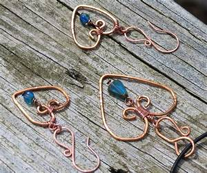 hammered copper wire wrapped jewelry by jrc1385 on DeviantArt