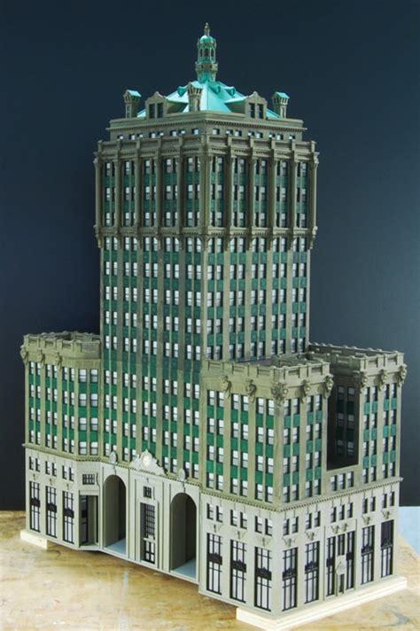 custom model railroads empire state building chrysler building