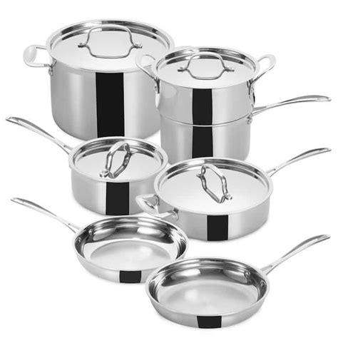 cookware chef professional grade budget stainless steel prices