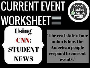 Current Event worksheet | Current events, Current events ...