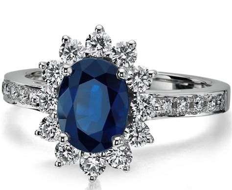 engagement rings blue blue engagement rings hd ring diamantbilds