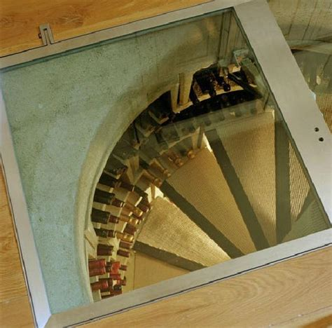 spiral wine cellar in kitchen floor spiral wine cellars through the 30 000 trapdoor in your 9374