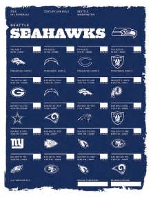 NFL Seattle Seahawks 2014 Schedule