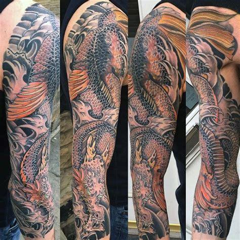 japanese sleeve tattoos  men masculine design ideas
