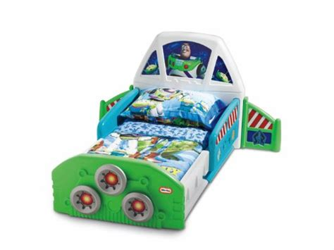 little tikes buzz lightyear toddler bed 050743619977 230 99