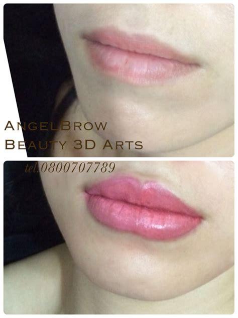 permanent lip colors tattoo technic  dimension