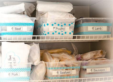 refrigerator  freezer organization ideas  idea room