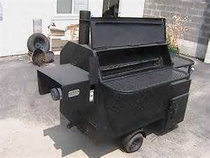 Rotisserie BBQ Smoker Pits for Sale Used