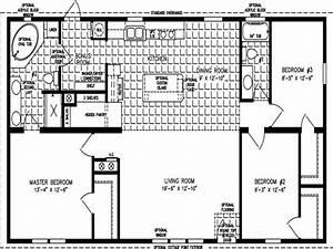 Mobile Home Floor Plans 1200 Sq FT 3