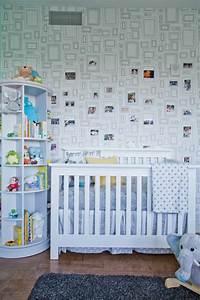 Wand Mit Bildern Gestalten : babyzimmer tapeten schaffen eine fr hliche stimmumg im raum ~ Sanjose-hotels-ca.com Haus und Dekorationen