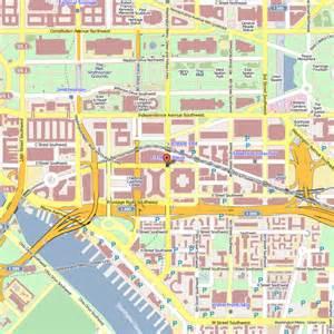 Washington DC Hotel Map