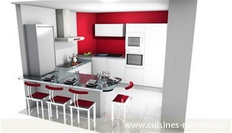 cr馥r un plan de travail cuisine créer concevoir sa cuisine en 3d cuisines raison