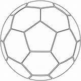 Ball Soccer Coloring Printable Football Supercoloring Balls sketch template