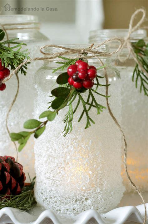 mason jar christmas decorating ideas clean  scentsible