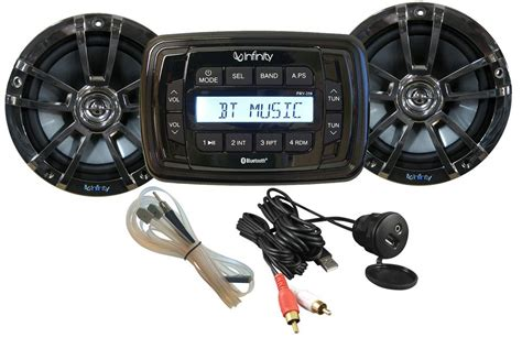 Boat Stereo No Power by Get 2018 S Best Deal On Infinity Infmpk250 Marine Stereo