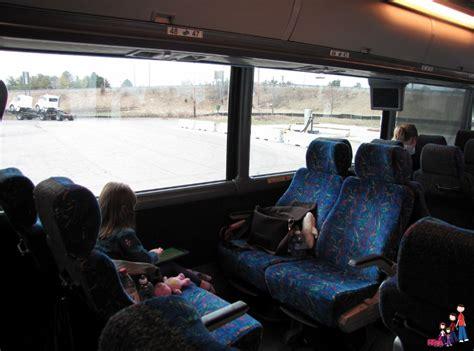 ride megabus  kids family rambling