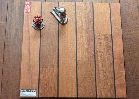 parquet massif salle de bain en merbau avec joint int 233 gr 233 tropical woods