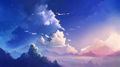 Anime Sky Landscape Clouds Makoto Shinkai Desktop