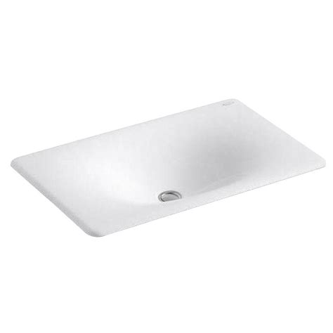 Gerber Logan Pedestal Sink by Gerber Logan Square Undercounter Bathroom Sink In White
