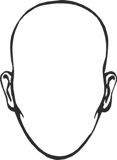 type  face  hair coloring page type  face