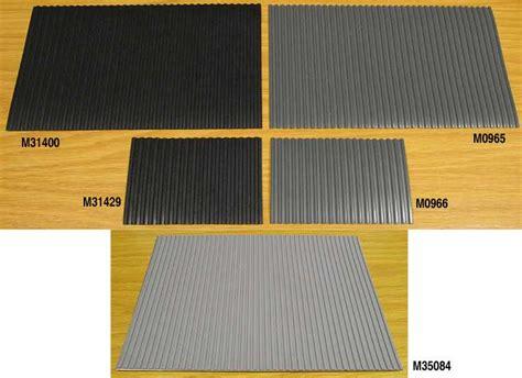 ridged bench mats