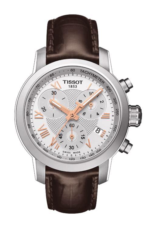 Tissot Prc 200 Chrono Leather Brw tissot prc 200 quartz chronograph t055 217 16 033 02