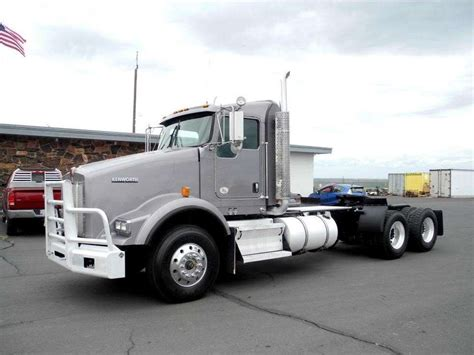 kenworth truck cab 2011 kenworth t800 day cab truck for sale 306 873 miles