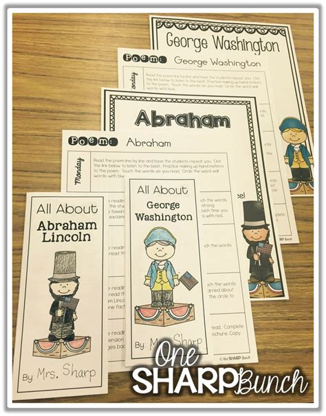 Use This Abraham Lincoln Poem George Washington