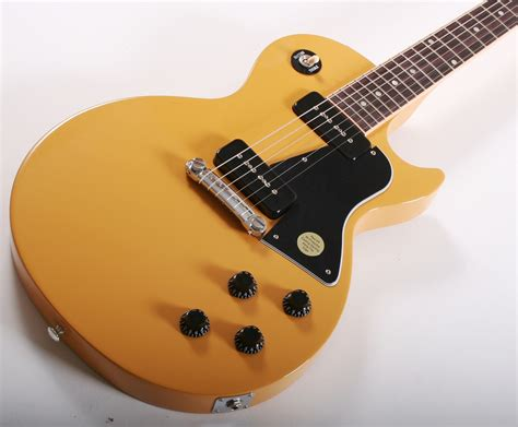 gibson les paul jr tv gibson limited les paul junior special tv yellow
