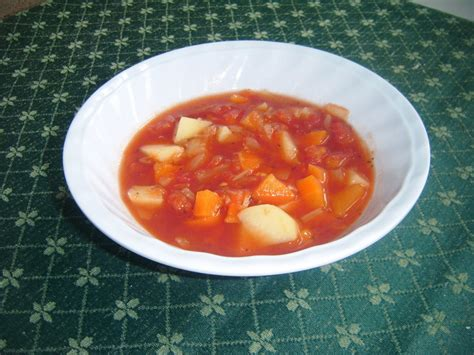 healthy vegetable soup object moved