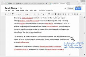 How to link to a specific paragraph of a google document for Link documents in google docs