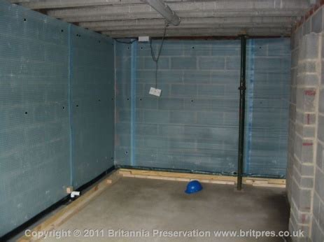 Double garage water ingress   Britannia Presevation