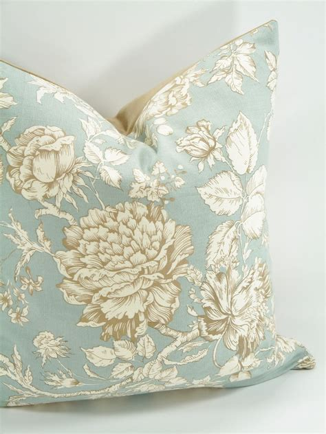 Formal Living Room Throw Pillows by Decorative Floral Pillow Cover 18x18 Zipper