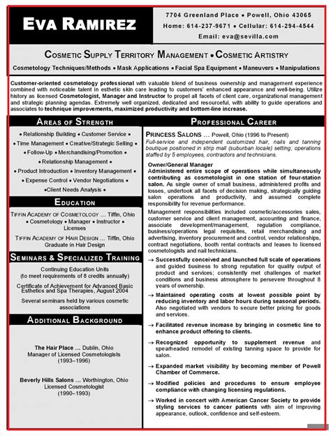 Cosmetologist Description For Resume by Pin By Latestresume On Resume Resume Sles