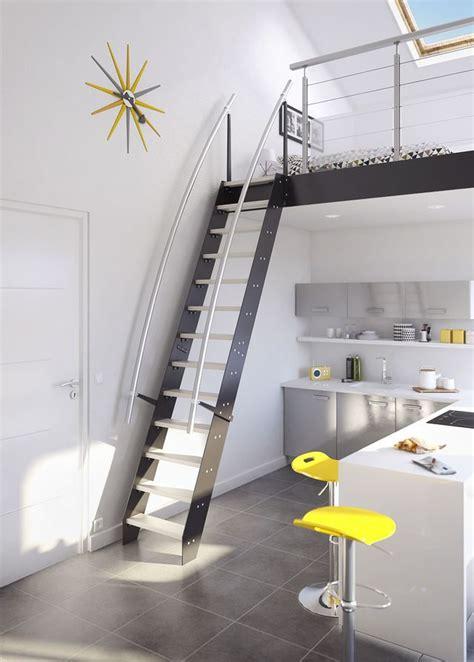 solution gain de place escaliers echelles de meunier