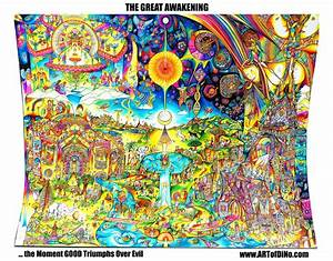 The, Great, Awakening, -, 40x30, Inches, Of, Ink