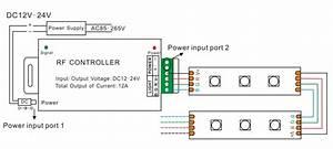 12v 24v 12a 24 Keys Ir Rgb Led Controller