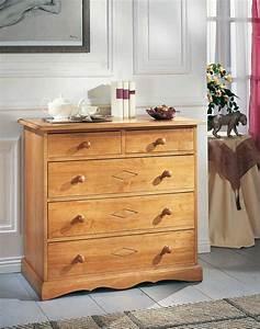 Commode En Bois Massif : commode bois massif coty secret de chambrechambre r ~ Teatrodelosmanantiales.com Idées de Décoration