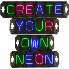 Neon light signs on Pinterest